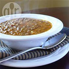 Recipe: Lentil soup in Greek (Fakes) - all recipes of Russia