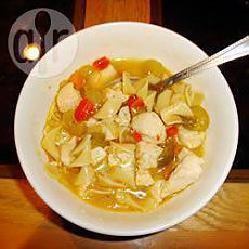 Recipe: Useful chicken vegetables soup - all recipes of Russia