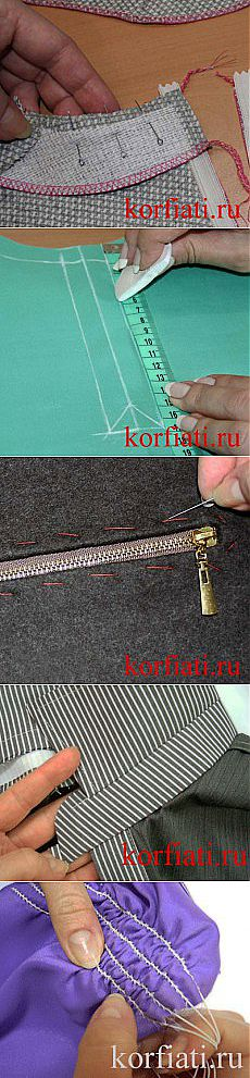 Master classes in sewing of clothes of SCHOOL of SEWING of A. Korfiati