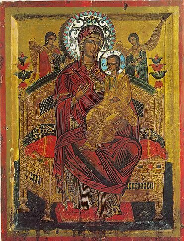 """Prayers before Blessed Virgin Mary's icon """"Всецарица"""""""