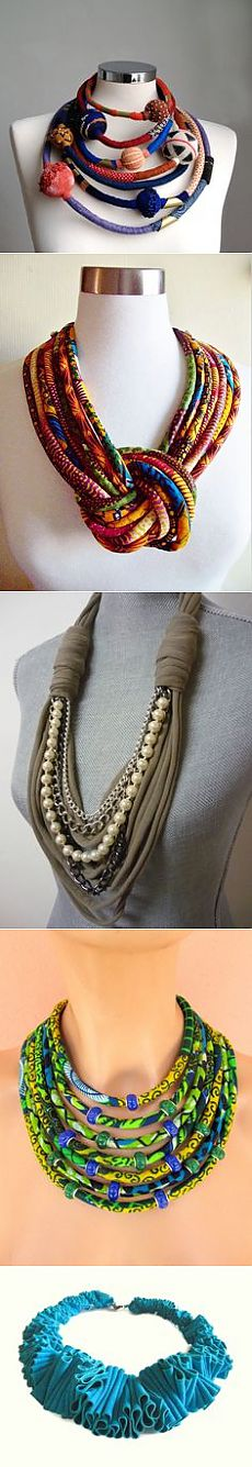 Accessories with use of textiles